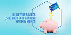 Build your Savings using your Rewards Points