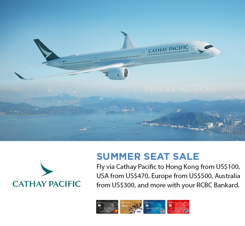 Cathay Pacific Summer Seat Sale