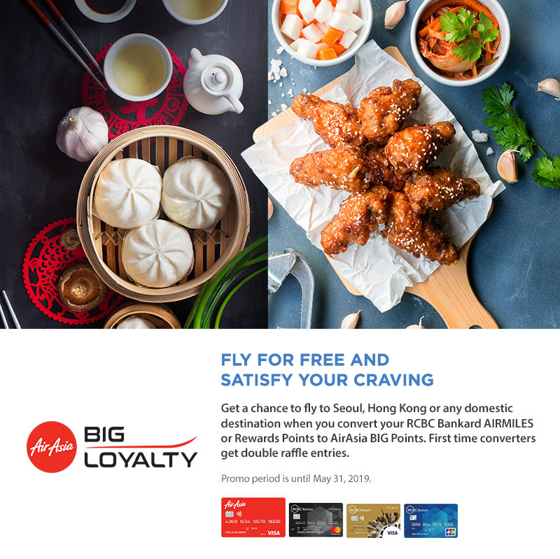 AirAsia's Convert and Win A Trip for 2